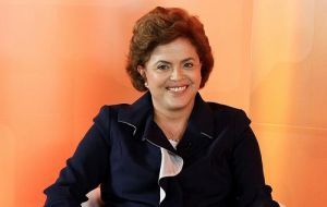 The Brazilian incumbent candidate is strongly climbing in opinion polls