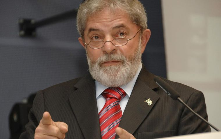 President Lula da Silva has strongly supported the development of Brazilian nuclear technology