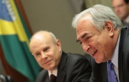 Mantega made the suggestion to IMF chief Dominique Strauss-Kahn (Photo AP)