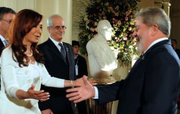 "A meeting ""more than good"", according to the Argentine president"