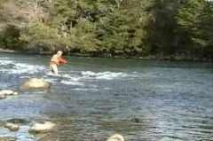 Fly fishing is one of the many attractions of Patagonia