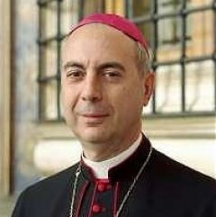 Vatican Foreign minister Archbishop Dominique Mamberti