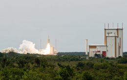 French Guiana Center and the powerful Ariane 5