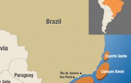 Campos Basin produces more than 85% of Brazil's crude