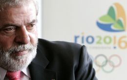 President Lula da Silva wants Europeans to invest in the 2014 World Cup and 2016 Olympics