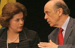 Dilma Rousseff and Jose Serra Who will succeed Lula da Silva, the most popular Brazilian president in recent times?