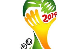 The official logo for 2014 Brazil World Cup
