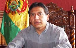 Bolivian Vice-president and Foreign minister, David Choquehuanca