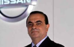 Nissan Chief Executive Officer Carlos Ghosn in Mexico City