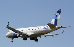 The first Embraer E175 will be delivered September 2011