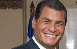 Rafael Correa accepted the invitation from Colombia's Juan Manuel Santos