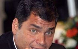 President Rafael Correa promises to pay reasonable compensations