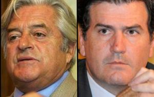 Uruguayan opposition leaders Lacalle and Bordaberry praised Mujica for his determination and ability