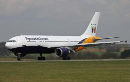 Monarch operates from Manchester and London