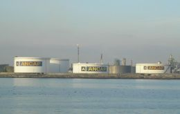 The port of Montevideo and Uruguay's only oil refinery are located in an ample protected bay