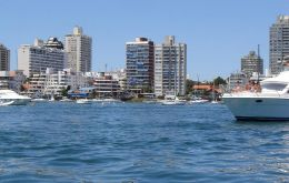 Hundreds of towers in Punta del Este mostly belonging to foreign investors