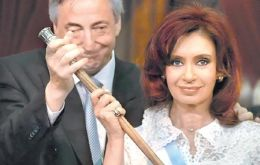The Argentine presidential couple committed to retain office