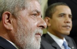 The Brazilian leader is disappointed with President Obama and his Latam policies