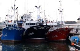 Over seventy foreign flagged fishing vessels operate from Montevideo
