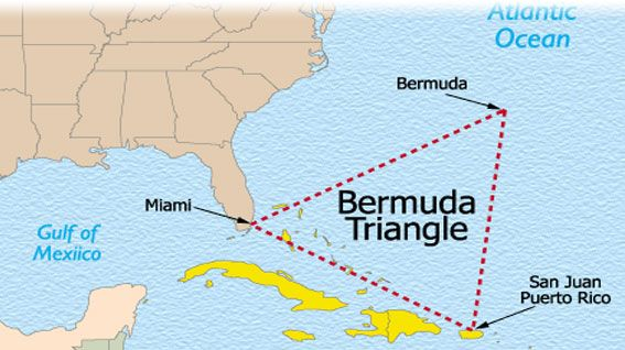 new research on bermuda triangle