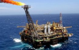 Most of Brazil's oil is extracted off-shore