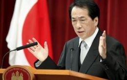 Prime Minister Naoto Kan and manufacturers concerned with strength of the Yen