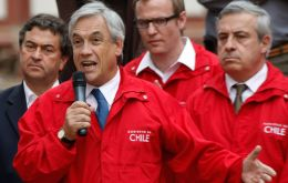 President Piñera has promised to finish extreme poverty by the end of his period