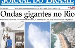 Jornal do Brasil celebrates September first its 119th anniversary