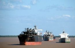 The mighty River Parana basin a crucial trade artery in the heart of South America