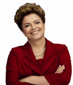 All my love to Bulgaria, signed Dilma Rousseff