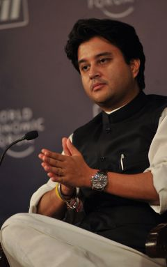 Minister of State for Commerce and Industry Jyotiraditya Scindia