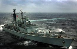 Falklands' bound HMS Gloucester remains at the heart of the controversy