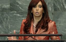 The Argentine president will also try and convince investors and businessmen