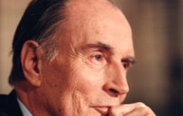 Former president Francois Mitterrand was the architect of the deal