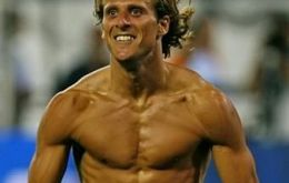 Diego Forlan was named the best player at the recent Cup in South Africa