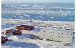Artigas Scientific base in Antarctica's King George Island