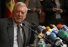 Literature Nobel Prize Mario Vargas Llosa spared no words