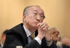 "IEA executive director Nobuo Tanaka: ""nobody knows when it will slow down"""