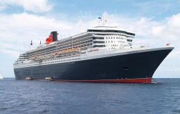 """Queen Mary 2"" will visit Montevideo on January 28."