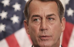 Minority Leader John Boehner of Ohio, next House Speaker in January