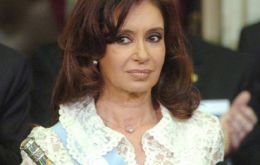 Moody's does not discard President Cristina Fernandez re-election chances