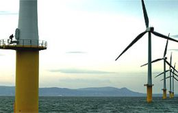 Projects include a 250 turbine wind farm 10 miles off the shores of Wales