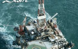 The Ocean Guardian oil rig is waiting for weather conditions to improve to spud the second Rachel prospect well