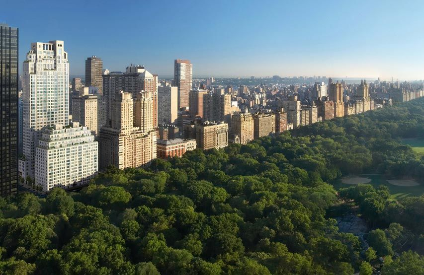 New york city pent house sold at record us dollars for Central park apartments ny