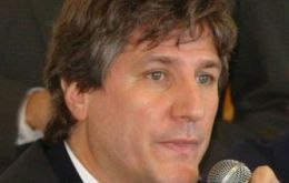 Economy minister Amado Boudou: sustained growth and social inclusion