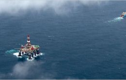 Ocean Guardian is currently drilling exploratory wells