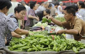 Fearful of inflation and food prices