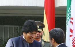 President Evo Morales defends contacts with Iran
