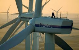 Delivery of the turbines should be completed in 2012