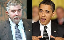 Paul Krugman: Obama faces unsolved economic downturn and an adverse Congress